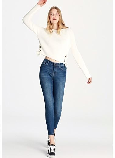 Mavi Tess Gold Hi Shape Tencel Jean Pantolon Mavi